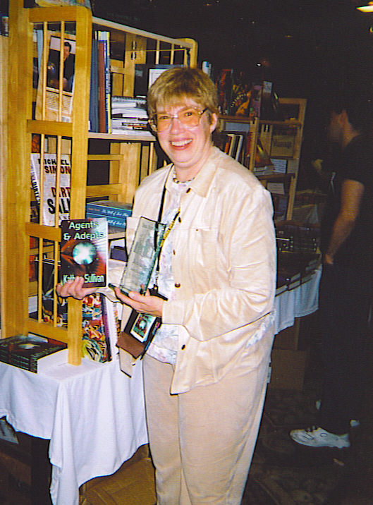 Kathy in dealers room
