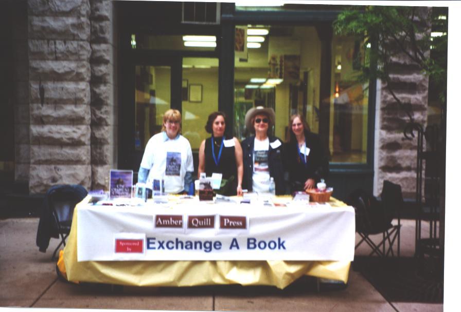 Kathy, Laura, Beth and Scarlett